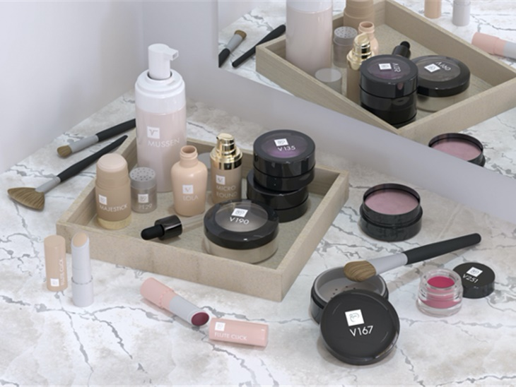 Make-up and skin care line packaging solutions